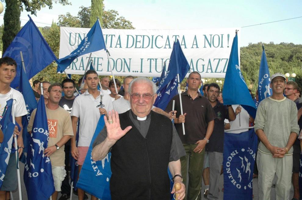 Don Pierino Gelmini: il fardello della carità?