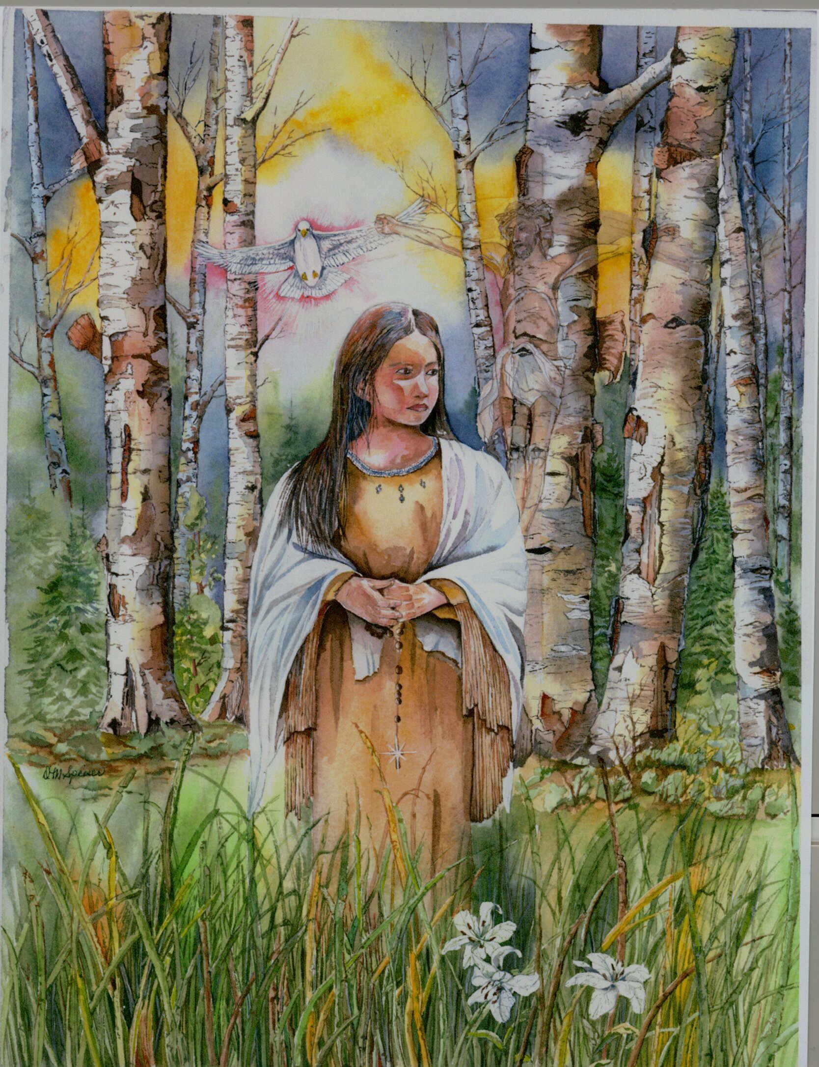 Kateri Tekakwitha, una santa tra indiani e cowboy