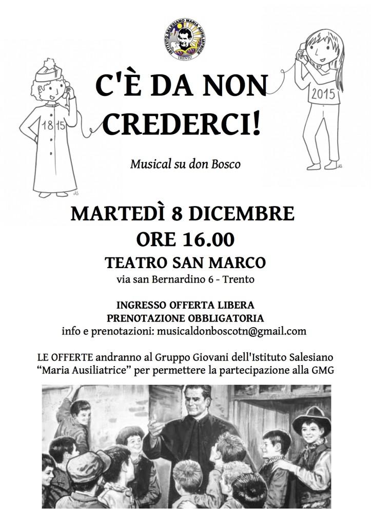 Volantino Musical don Bosco Trento