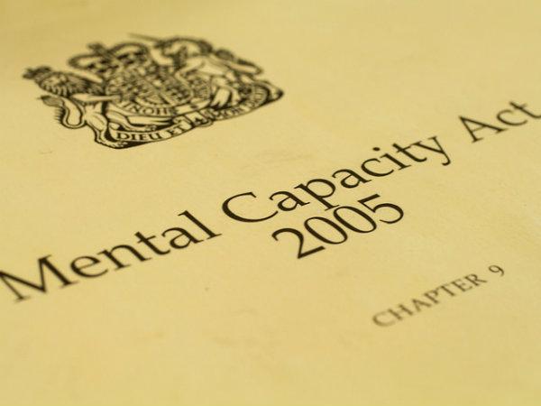 11 Mental Capacity Act