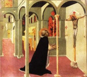 San Tommaso davanti al Crocifisso