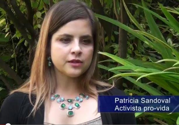 Defensa de la vida, Patricia Sandoval (eligelavida)