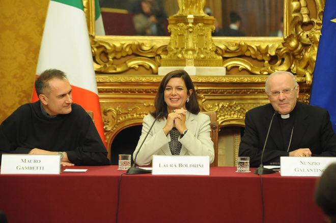 Incontro celebrativo 75° Anniversario Proclamazione San FRancesco d'Assisi arch.3474-C 01.10.14