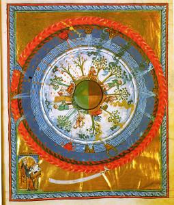 Hildegard_von_Bingen-_'Werk_Gottes',_12._Jh.