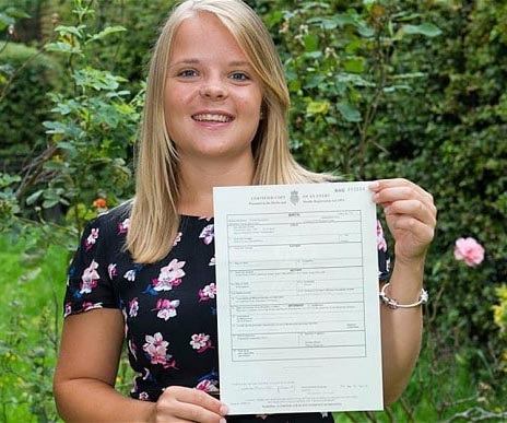 09 Emma Cresswell 26 had her birth certificate changed