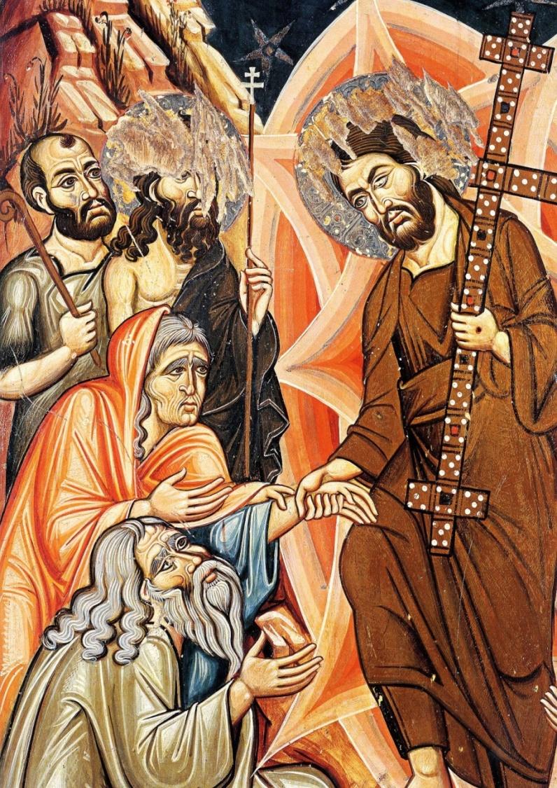Questa immagine ha l'attributo alt vuoto; il nome del file è Resurrezione-sec-XIII-Monastero-S.-Caterina-del-Sinai.jpg