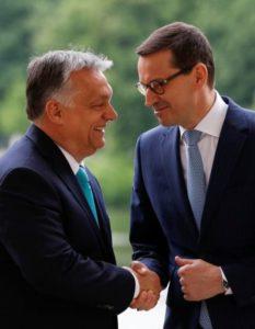 Polonia-Ungheria-Morawiecki-Orban